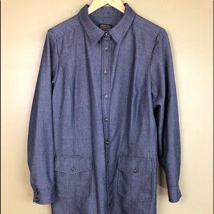 Pendleton light weight wool jacket size L